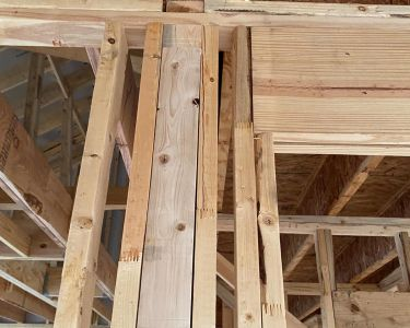 Home inspection photo from Hearn's Real Estate Inspections
